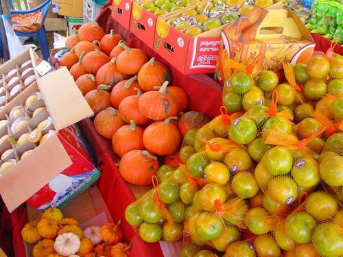 K. Local produce in season in November (Dsc02811)