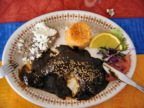 Oaxacan Chicken Mole (Dsc00970)