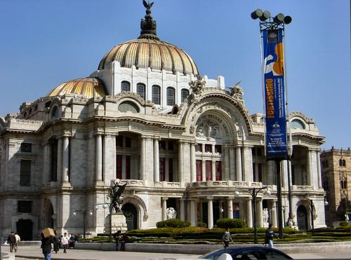 Palacio De Bellas Artes, Mexico City (Dsc01027enh)